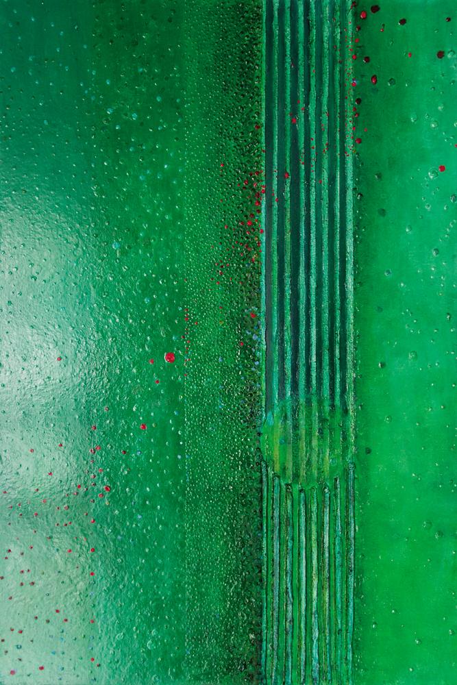 Gusła II – 120x80 cm, akryl/olej na płótnie