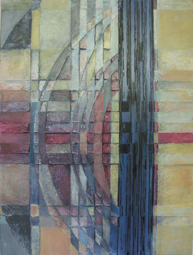 N.Y. Morning Jazz – 120x90 cm, akryl/olej na płótnie
