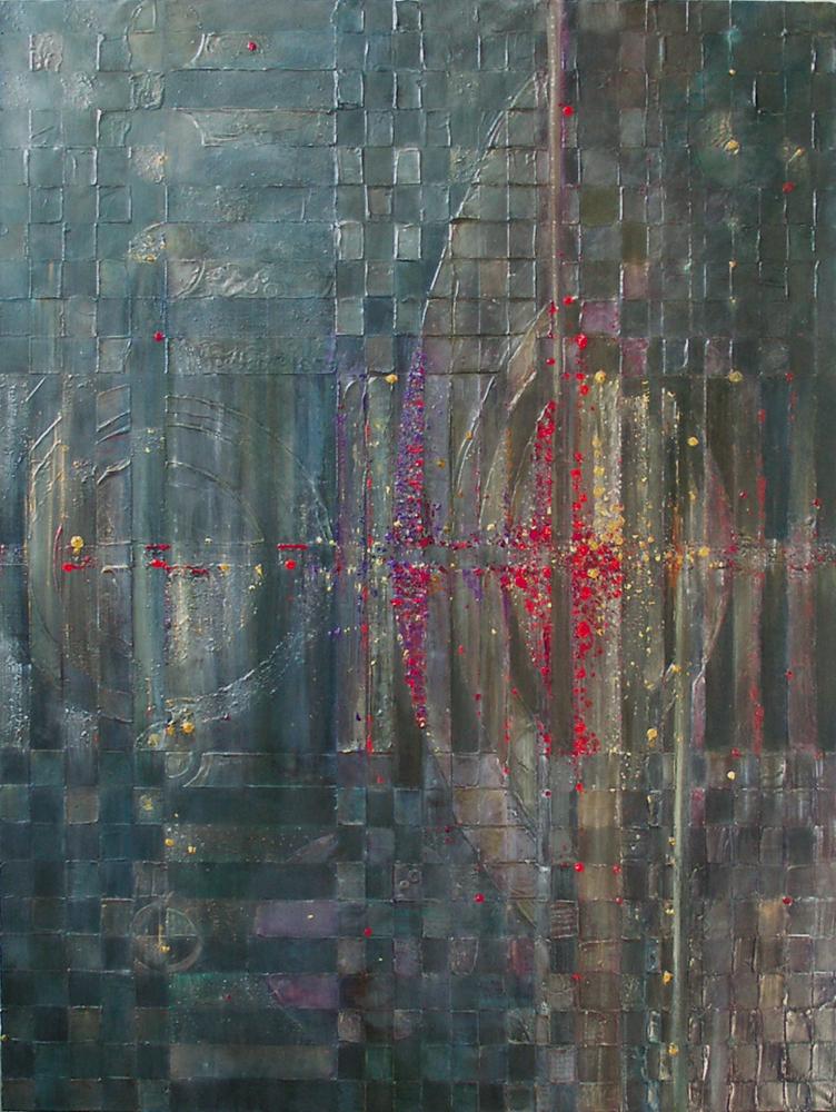 N.Y. Jazz – 120x90 cm, akryl/olej na płótnie
