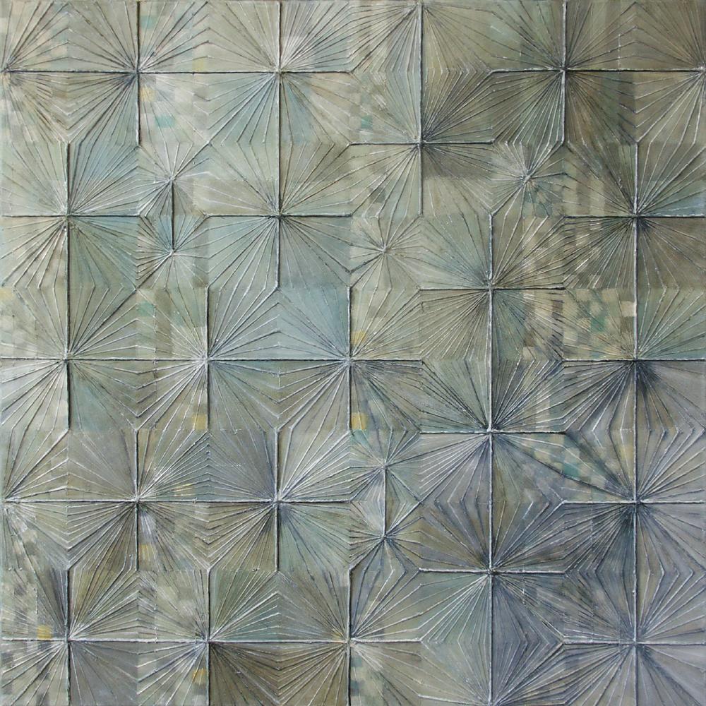 Serenite – 100x100 cm akryl/olej na płótnie
