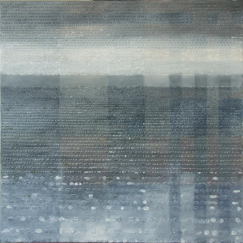 Symfonia Polonia 1 – 100x100 cm akryl/olej na płótnie