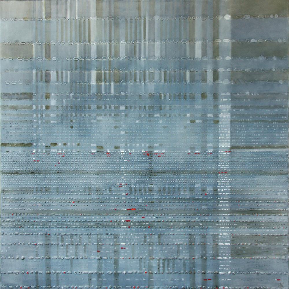 Symfonia Polonia 3 – 100x100 cm akryl/olej na płótnie